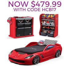 corvette car bed for sale corvette bedroom combo bedroom combo step2