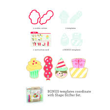 celebrate it cookie cutters sweet sugarbelle celebrate cookie cutter set