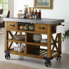 farmhouse kitchen island with wheels home pinterest