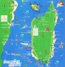 Galveston Island Map About Cozumel