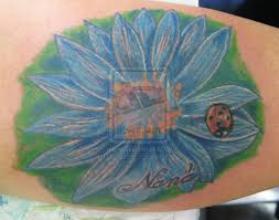 Ladybug And Flower Tattoos - ladybug tattoos and designs page 22