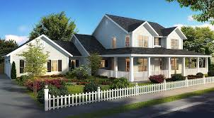 house plans country farmhouse expanded farmhouse plan with 3 or 4 beds 52269wm architectural