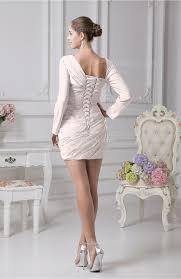 light pink graduation dresses light pink graduation dress sheath one shoulder long sleeve