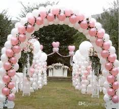 wedding arches and columns wholesale wedding layout props balloon arch folding arch frame wedding