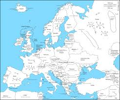 map of europr late europe map labeled within creatop me