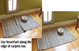 Corner Rug Grippers Nevercurl Stops Rug Corner Curling Safe For Wood Floors