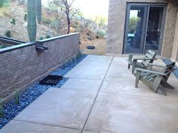 concrete patios tucson zona decorative concrete