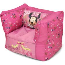 Mickey Mouse Patio Chair by Minnie Mouse Square Bean Bag Chair Walmart Com