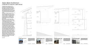 italian alpine architecture u2013 contextualism and modernism in