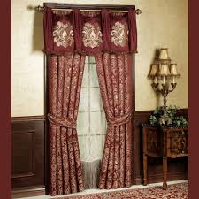 Swag Valances For Windows Designs Palatial Swag Valance And Window Treatments