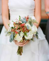 wedding flowers eucalyptus 37 absolutely gorgeous winter wedding bouquets martha stewart