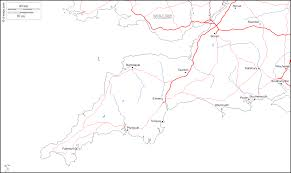 Plymouth England Map by South West England Free Map Free Blank Map Free Outline Map