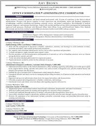 sle office administrator resume best manager templates