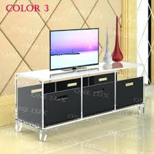 tv stand innovative clear acrylic tv stand table acrylic