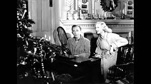 black and white christmas wallpaper white christmas by bing crosby from the 1942 movie holiday inn