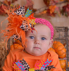 thanksgiving hair bows thanksgiving leopard the top bow at tutu spoiled online store