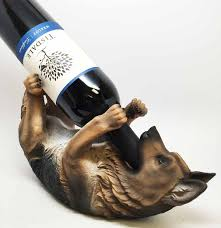 Wine Kitchen Decor by Kitchen Decor German Shepherd Dog Wine Bottle Holder Wine Bottle