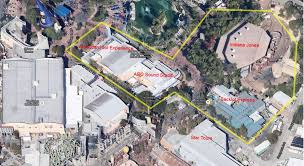 Map Of Hollywood Studios Aerial View Of Potential Star Wars Land At Disney U0027s Hollywood