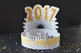 New Years Eve Decorations Printable by Diy New Year U0027s Eve Hats Free Printables Project Nursery