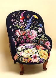 Fantastic Furniture Armchair Needlepoint Armchair In Sane So Gorgeous For The Home