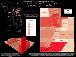 Counties In Utah Map by Downwinders Of Utah Archive Theu