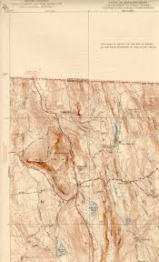 Map Of New England Area by Mount Grace Ma Nh Quadrangle