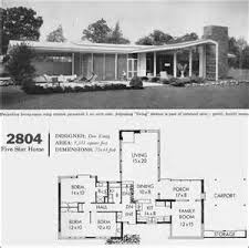 Mid Century Modern Ranch House Plans 209 Best Inspiration Mid Century Home Plans Images On Pinterest