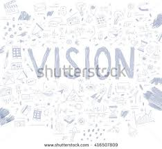 hand drawn style business design pencil stock vector 416507602