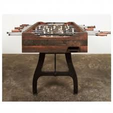 reclaimed wood game table foosball game table reclaimed wood iron district eight hgda242