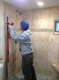 How To Install A Shower Door On A Bathtub Vermont Professional Construction Painting Llc Shower Door