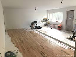 brick ranch fixer upper living room transformation jenna burger