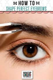 How To Shape Eyebrow Xena Archive How To Shape Perfect Eyebrows