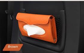 porte box auto or voiture pare soleil tissue box auto accessoires porte serviette