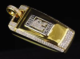 diamond plated rolls royce mens solid 10k yellow gold rolls royce key diamond pendant 1 75 in