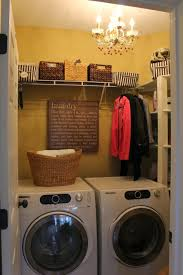 Laundry Room Decoration by Laundry Room Interesting Laundry Room Decoration With Rattan