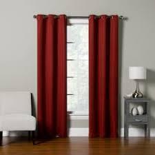 red curtains u0026 drapes window treatments home decor kohl u0027s