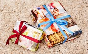 personalized gift wrapping paper photo gift wrap photo wrapping paper personalized gift wrap