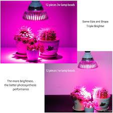 Full Spectrum Led Grow Lights Full Spectrum Led Grow Lights 7w 12w 24w 36w 54w E27 Led Grow Lamp