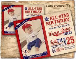 baseball invitation baseball birthday invitation