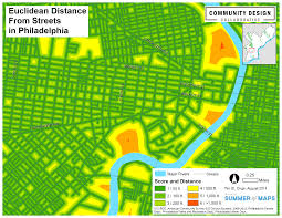Measure Distance On Map Summer Of Maps Creating A Cost Distance Surface To Measure Park