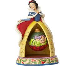 jim shore disney traditions snow white figurine qvc