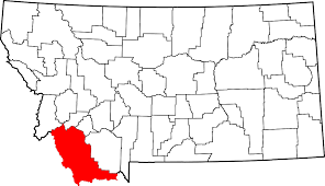 Map Of Montana Highways by National Register Of Historic Places Listings In Beaverhead County