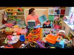 kids play room organizing the kids playroom in under 20 minutes youtube