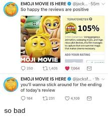 emoji is here 55m v so happy the reviews are positive