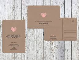 Kraft Paper Wedding Invitations The 42 Best Images About Invitations On Pinterest