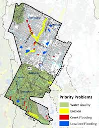 City Of Austin Map by District 4 Watershed Profile Watershed Protection Austintexas