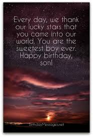 Thanksgiving Sms For Birthday Wishes Son Birthday Wishes Unique Birthday Messages For Sons