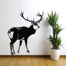 home interior deer picture deer tundra animal wall vinyl sticker decal nursery