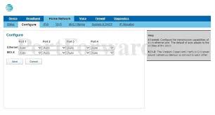 auto port forward arris bgw210 700 att home network configure router screenshot