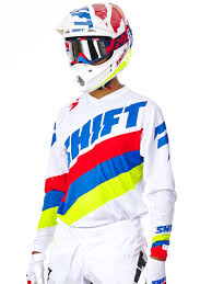 mens motocross jersey shift white 2017 label whit3 tarmac mx jersey shift